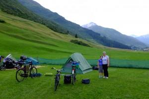 Camping in Andermatt
