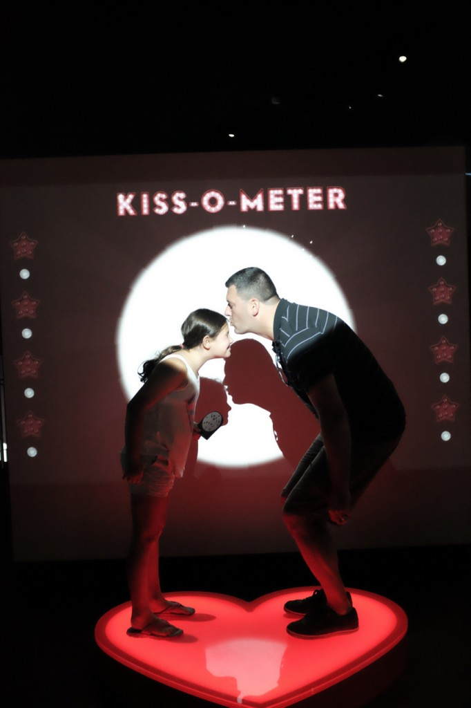 "The Kiss-O-Meter rated us ""prudish"" but still gave us quite a bit of detail on spit-swapping and the various microbial fun that goes along with it."