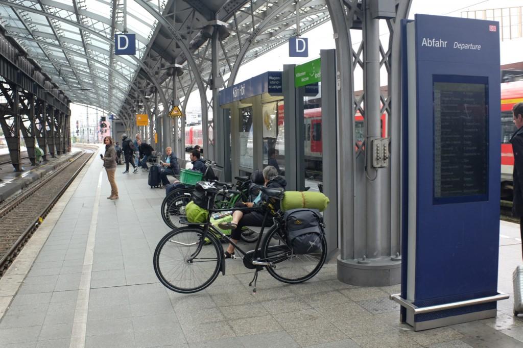 At the Koln Station
