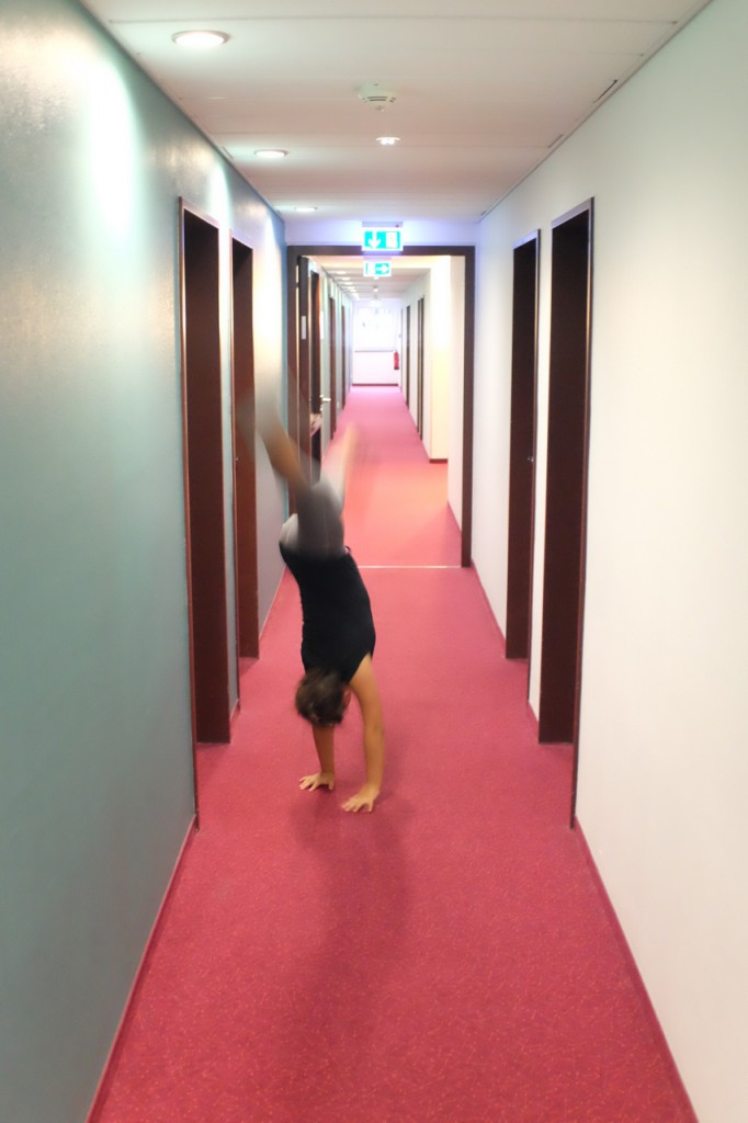 Cartwheels in B&B Hotel