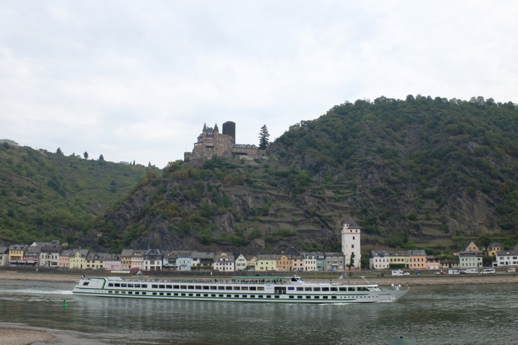 Cruise ships and castles