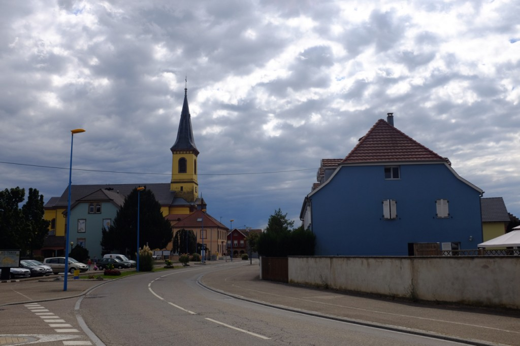 The last little village before Neuf Brisach.