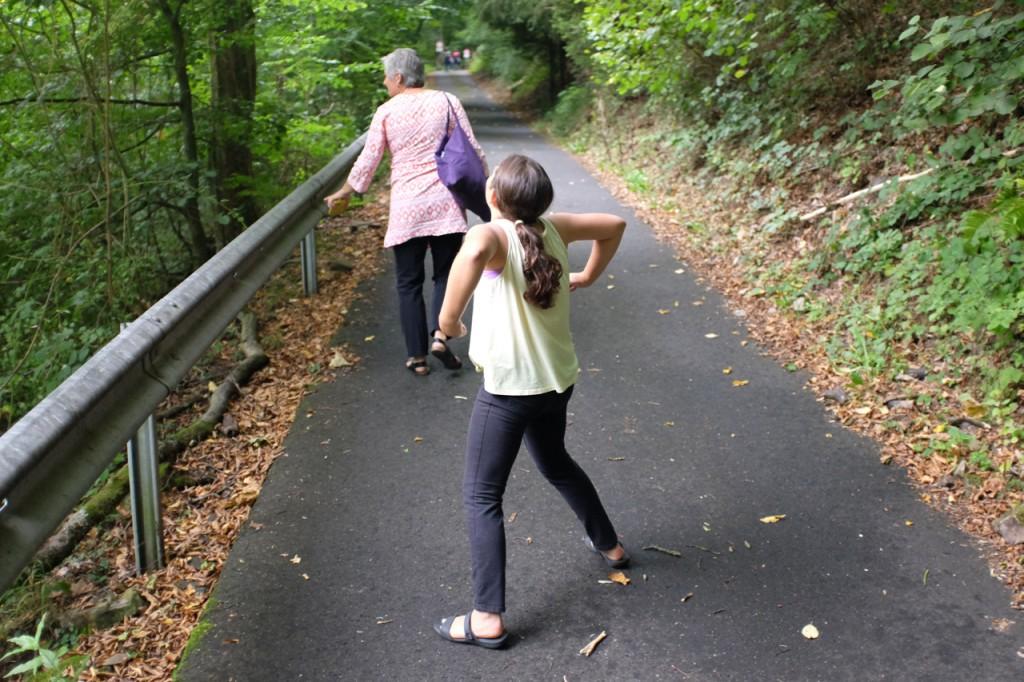 Dance break on the hill