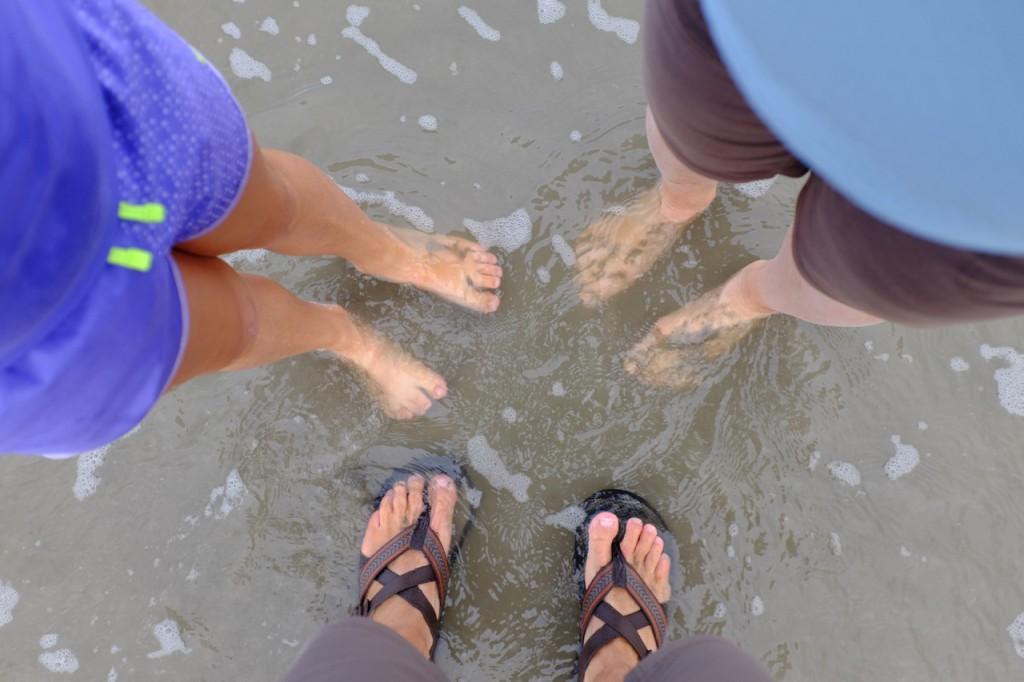Dipping our toes in the North Sea