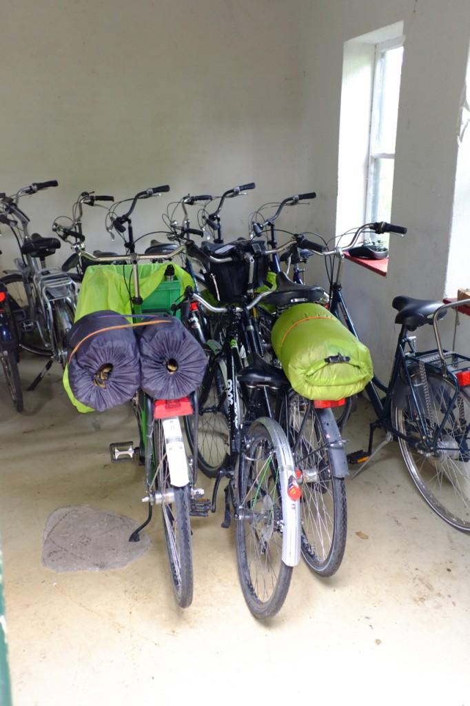 Hotel bike room