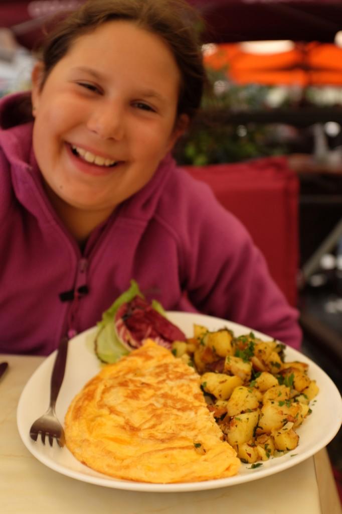Omelet. Yum!