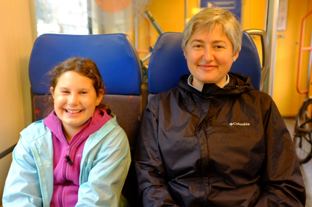 On the train the Utrecht