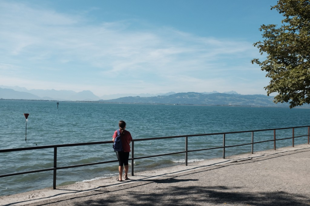 Our first views of Lake Constance Bodensee