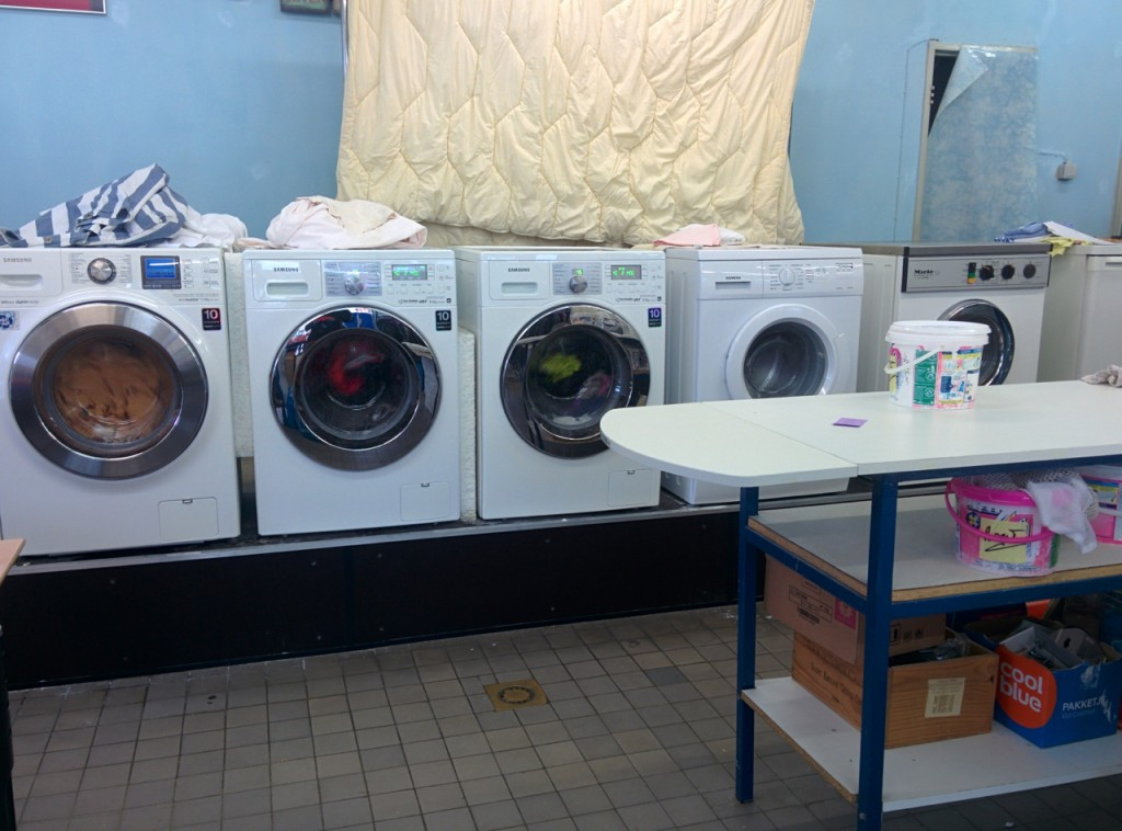 The second laundromat