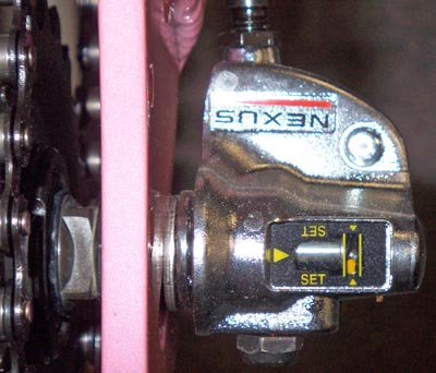 Shimano Nexus 3 speed bellcrank
