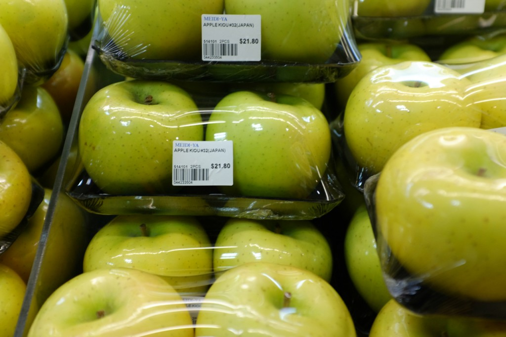 2 Apples $21.80