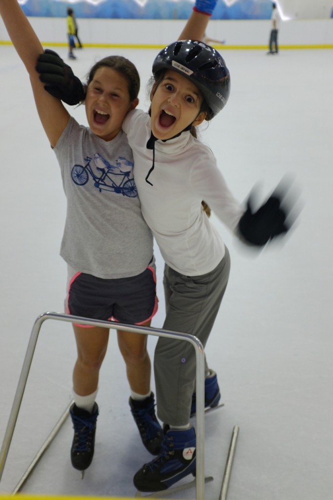 More fun on the ice
