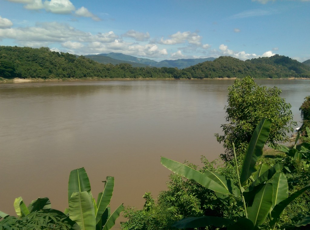 A view of the Mekong from class