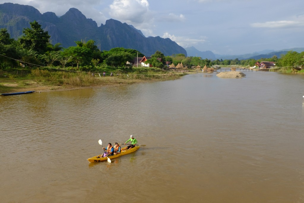 Canoeing the Mekong