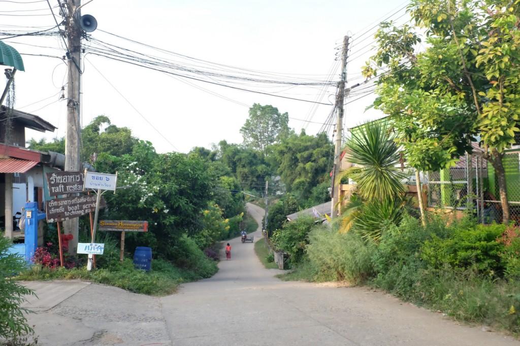 Chaing Khong street scene