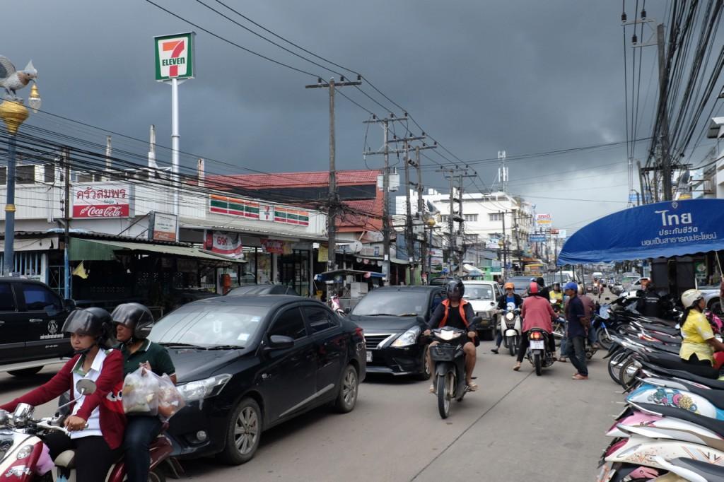 Chumpon town scene