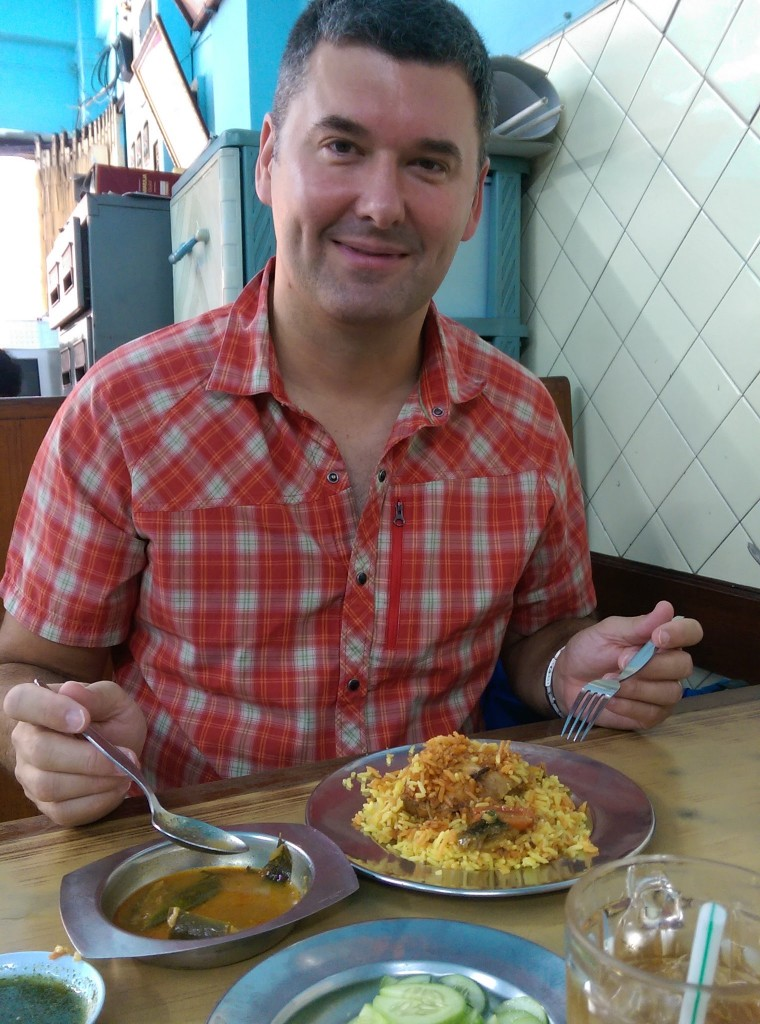 Waco's biryani at Muslim Restaurant
