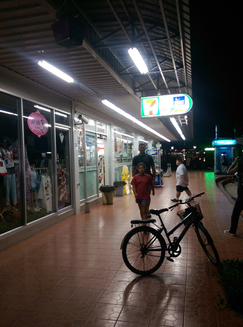"at 7-Eleven, or as the Thais call it, ""7"""