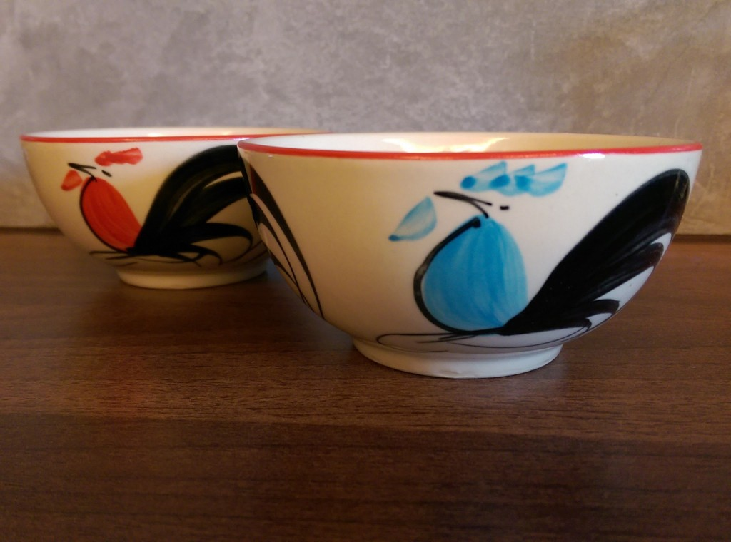 Rooster bowls