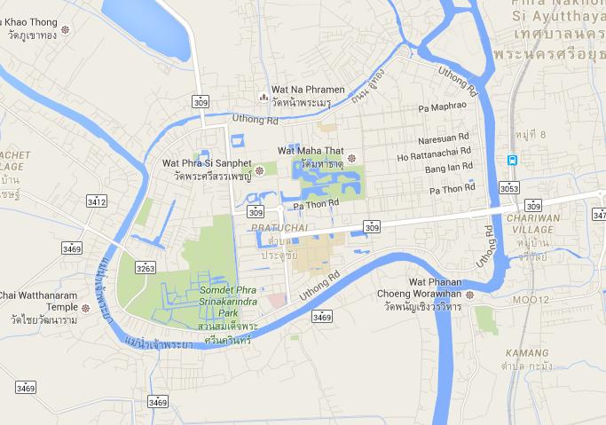 Ayutthaya Canal Loop