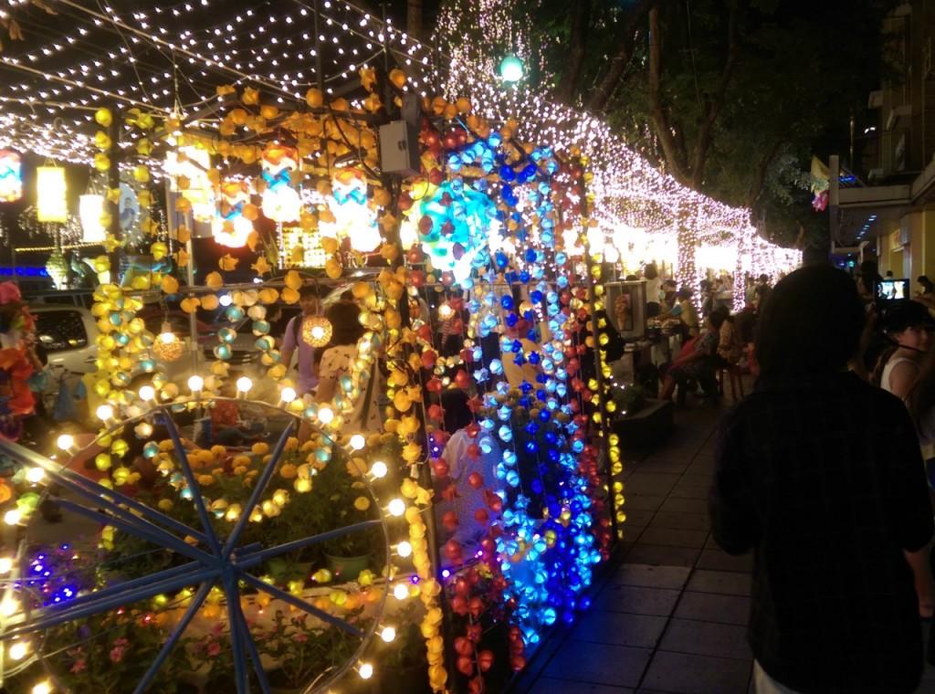"Festive ""Bike for Dad"" street"