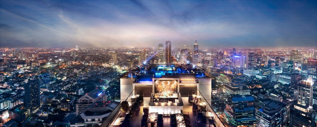 Moon Bar, Bangkok.
