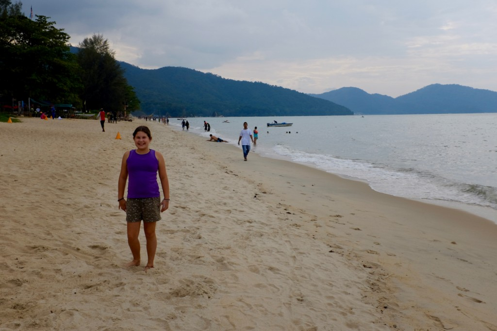 Beach at Batu Ferringhi