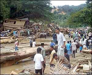 Bukit Lawang Flood