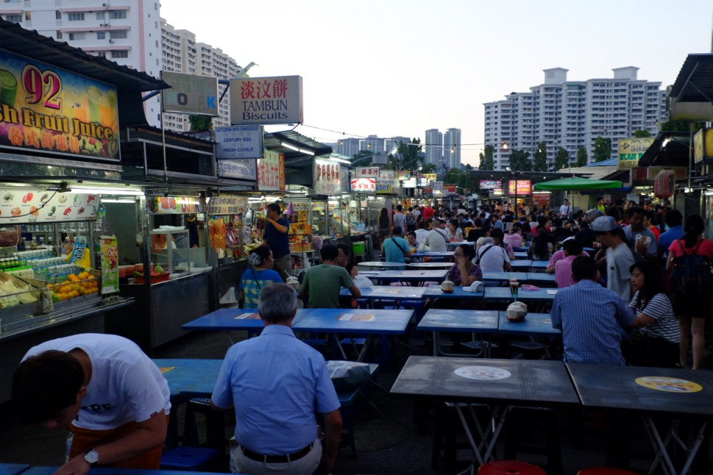 Gurney night food market