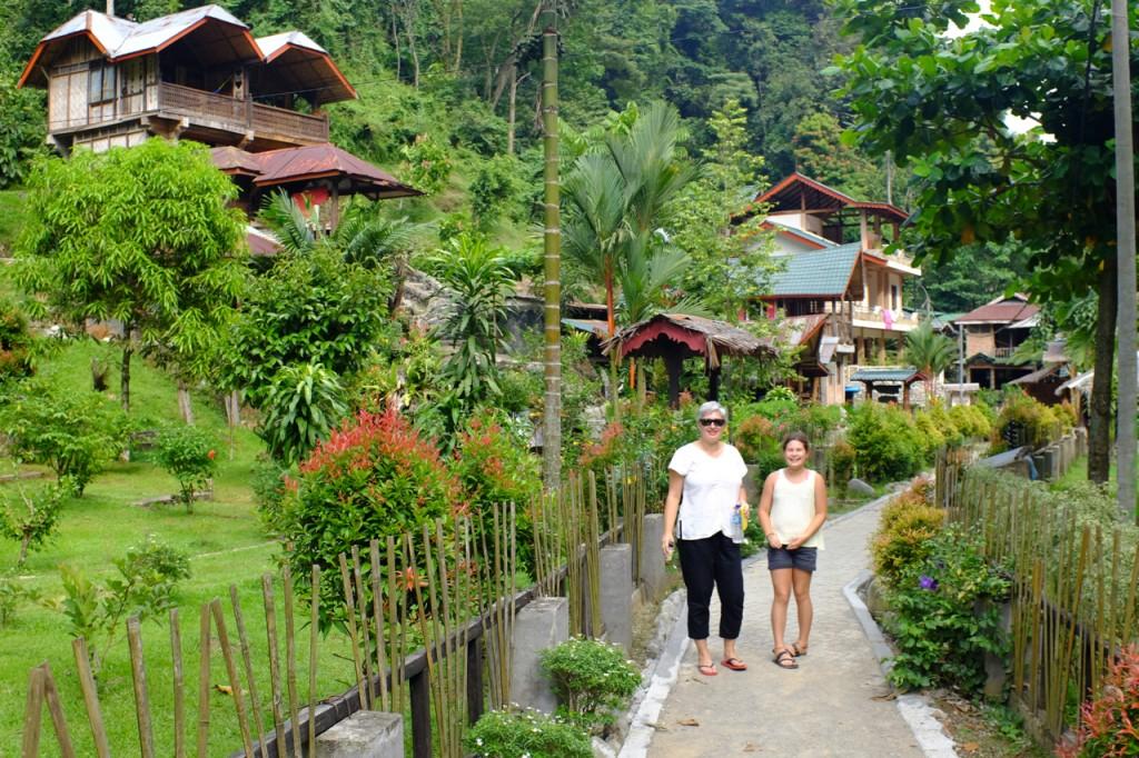 In Bukit Lawang