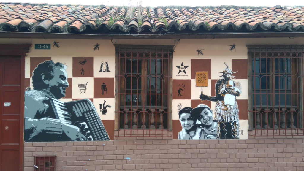 Graffiti in La Candelaria