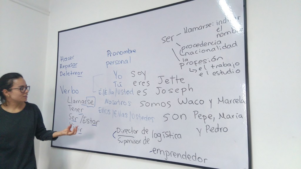 Spanish class!