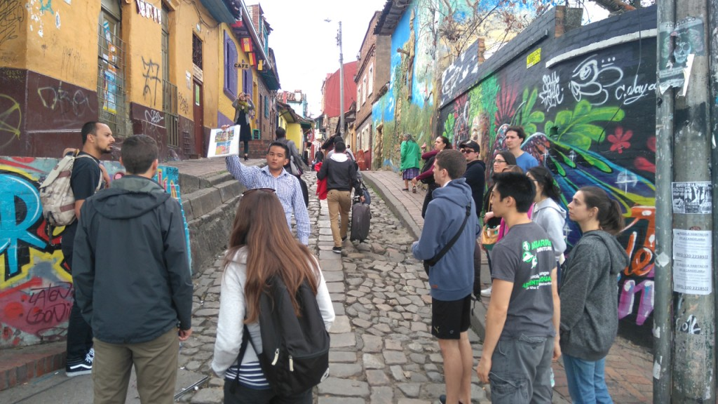 Walking tour of La Candelaria.