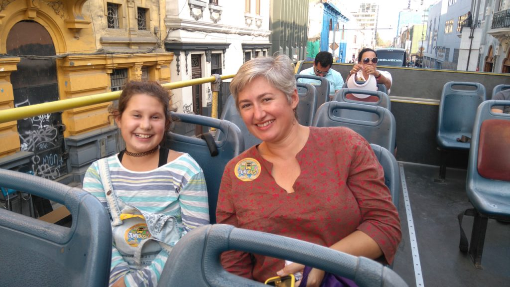 Bus tour of Lima