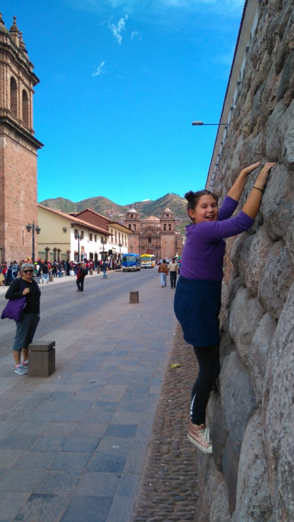 Cusco had Jette climbing the walls!