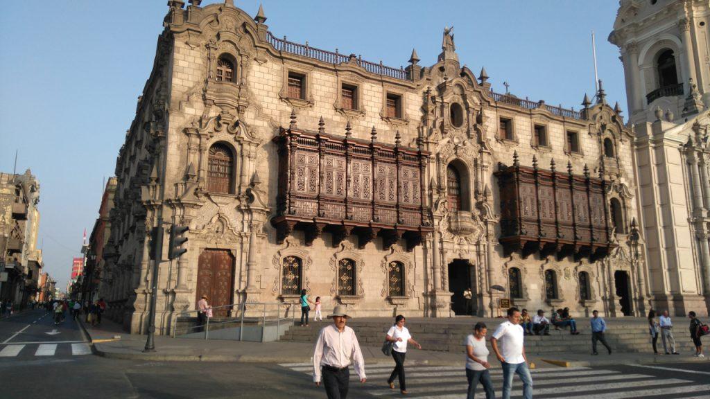 Grand colonial architecture
