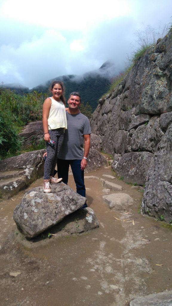 Jette and me at Machu Picchu