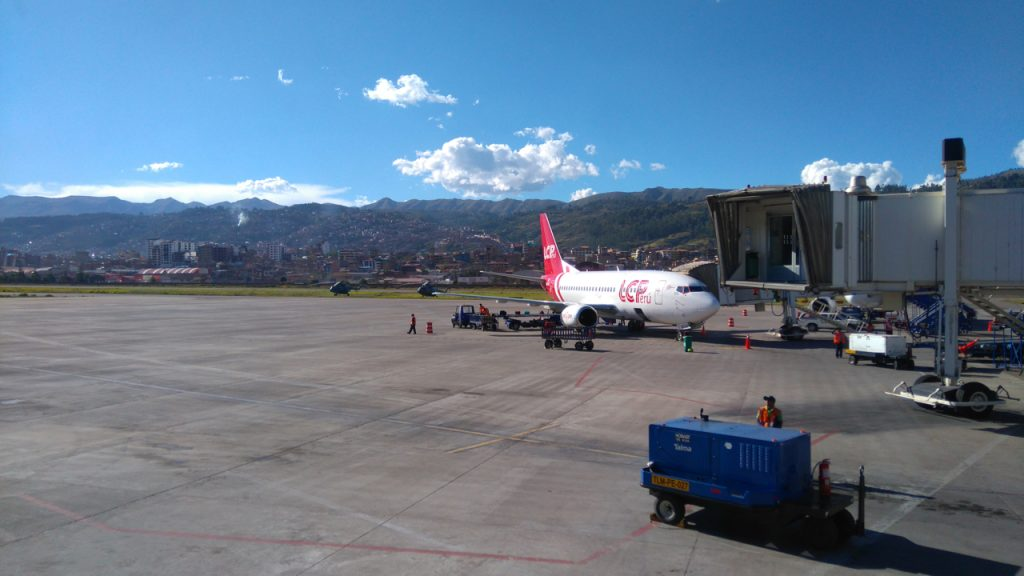 On the ground in Cusco