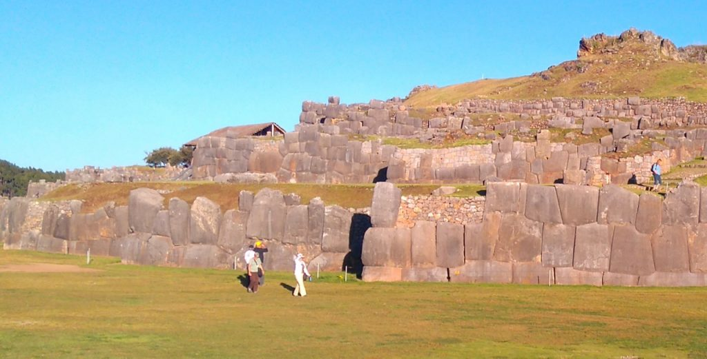 The massive stones of Saqsaywaman.