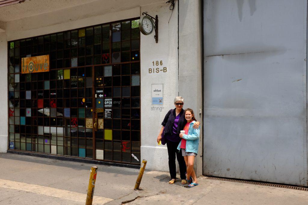 A fun vintage shop.