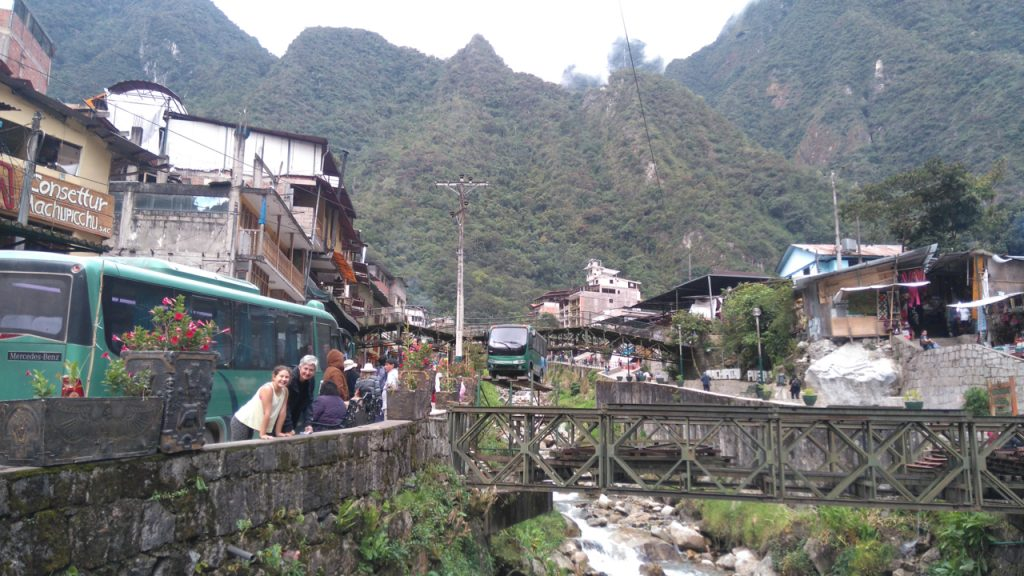 Back in Aguas Calientes