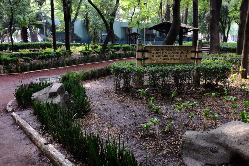 Parque Mexico.