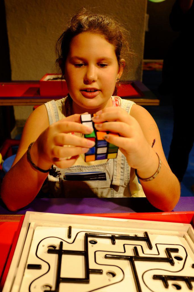 Rubik's Qube and maze